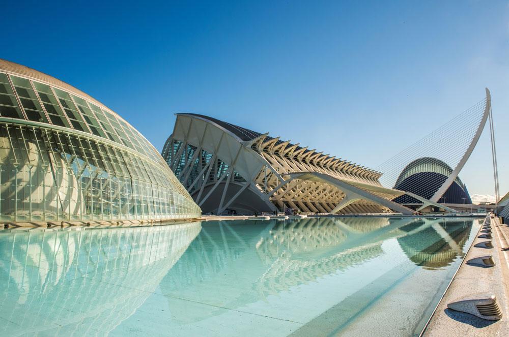 Valencia Stadt der Künste und der Wissenschaften