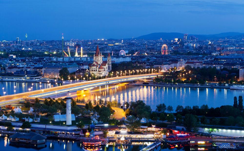 Schönste Städte Europas Wien