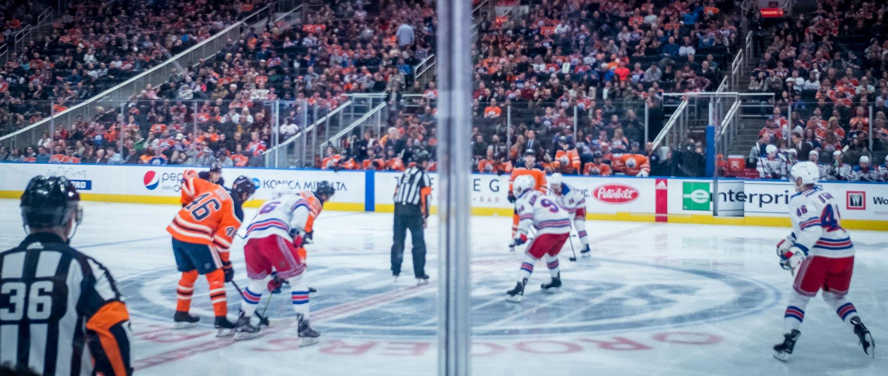 Edmonton Oilers Eishockey.