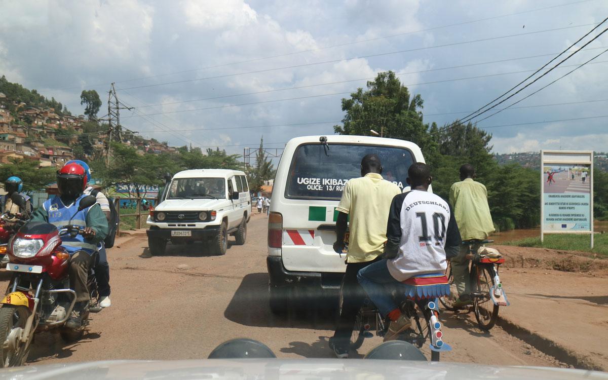 Kigali Straßenverkehr