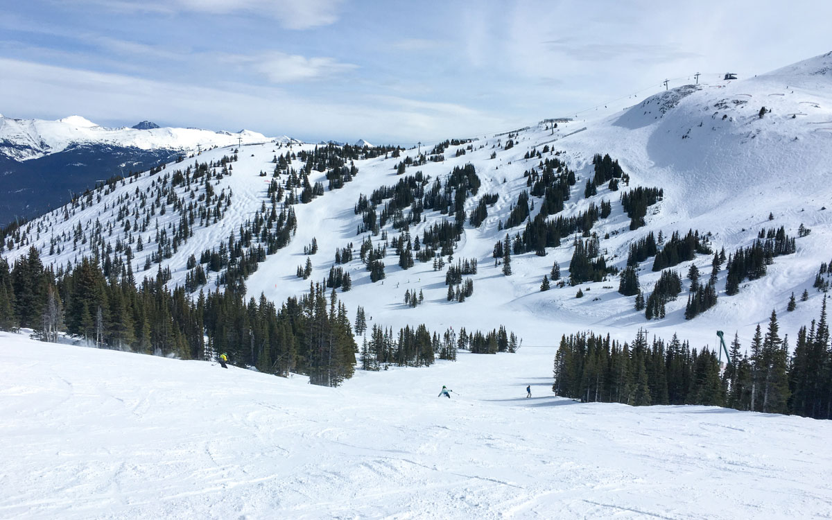 Kanada Rocky Mountains Marmot Basin Jasper Skigebiet