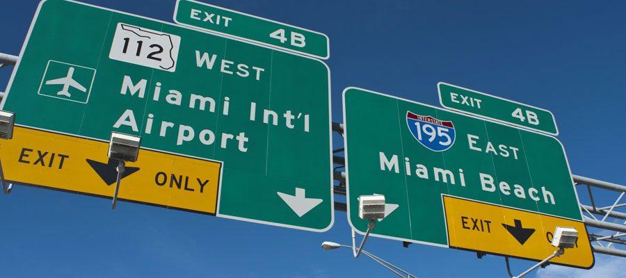 Flughafen in Miami: Transfer nach Miami Beach mit Kosten und Tipps