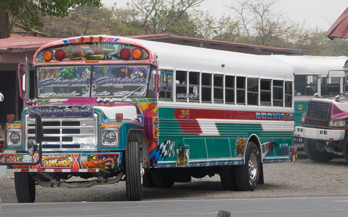 Panama Reisetipps Bus fahren