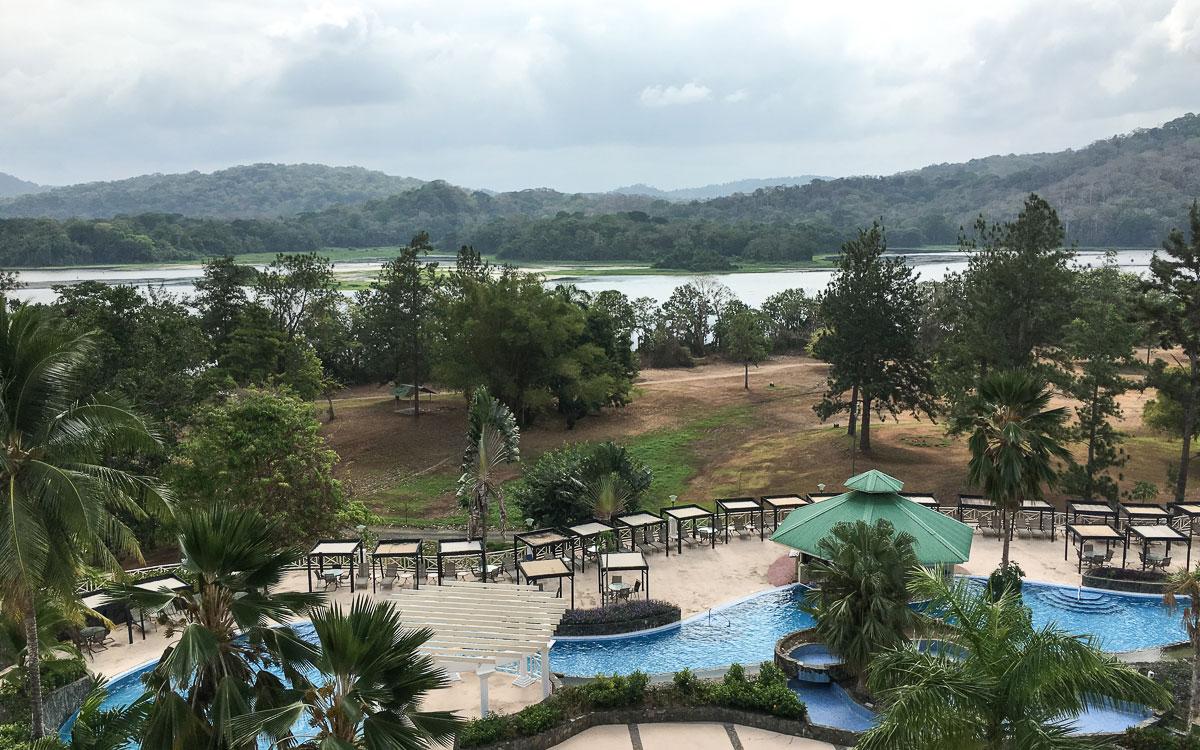 Panama Sehenswürdigkeiten Gambao Rainforest Resort Pool