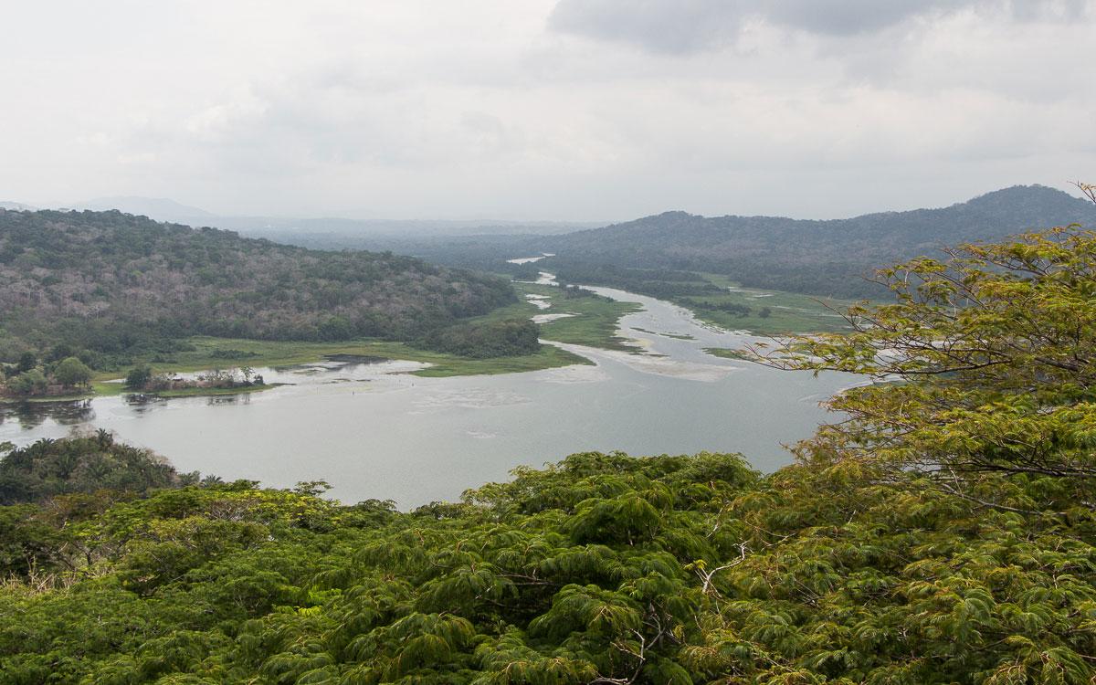 Panama Sehenswürdigkeiten Gamboa Rainforest Resort Ausblick