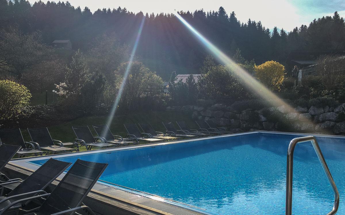 Allgäu Oberstaufen Lindner Resort Hotelpool