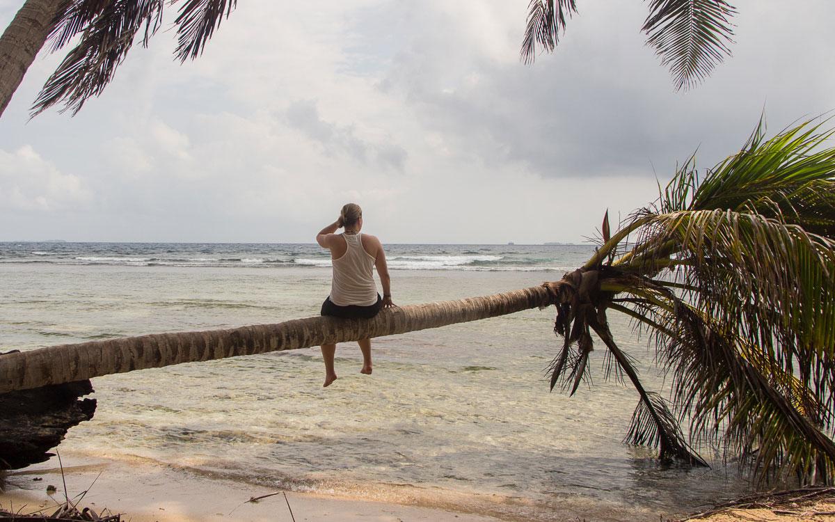 San Blas Inseln Guna Yala Isla Aguja relaxen