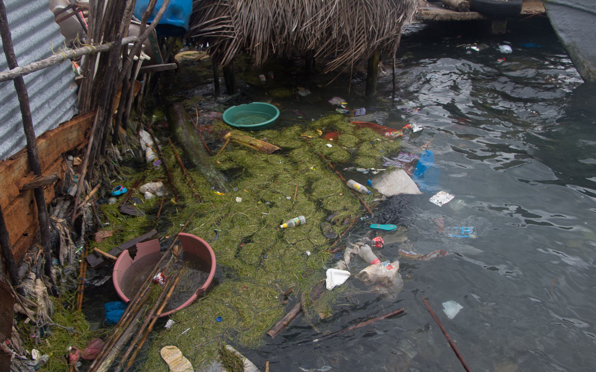 San Blas Kuna Yala Carti Müll