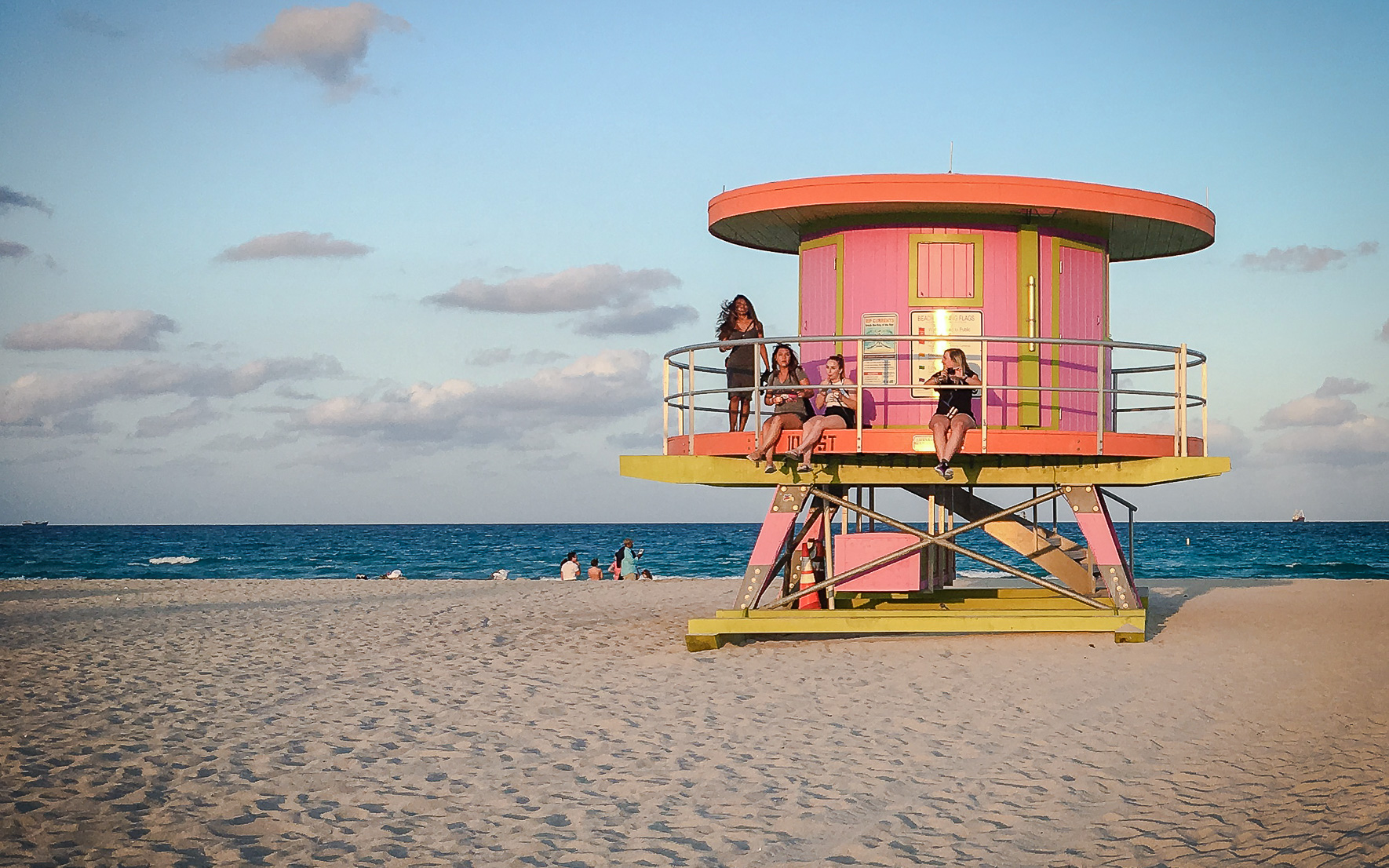 Miami South Beach Strand