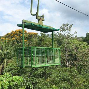 Panama Sehenswürdigkeiten Aeria Tram Gambao