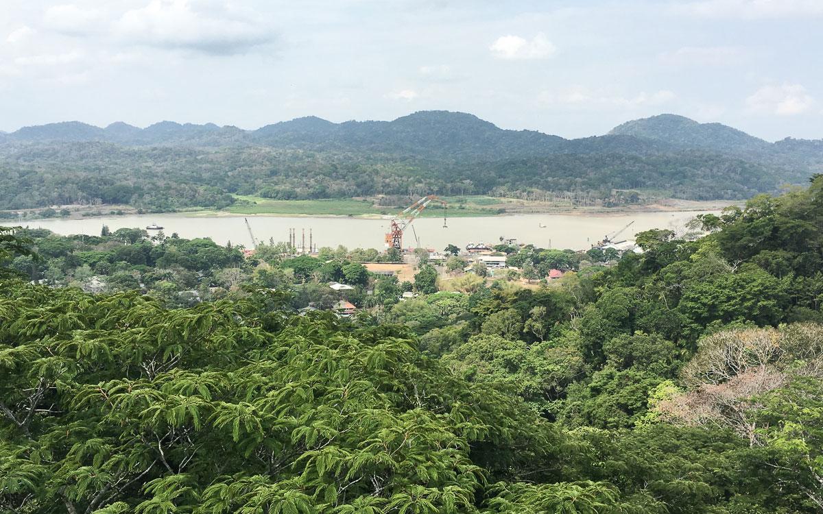Panama Sehenswürdigkeiten Parque Nacional Soberania Panamakanal