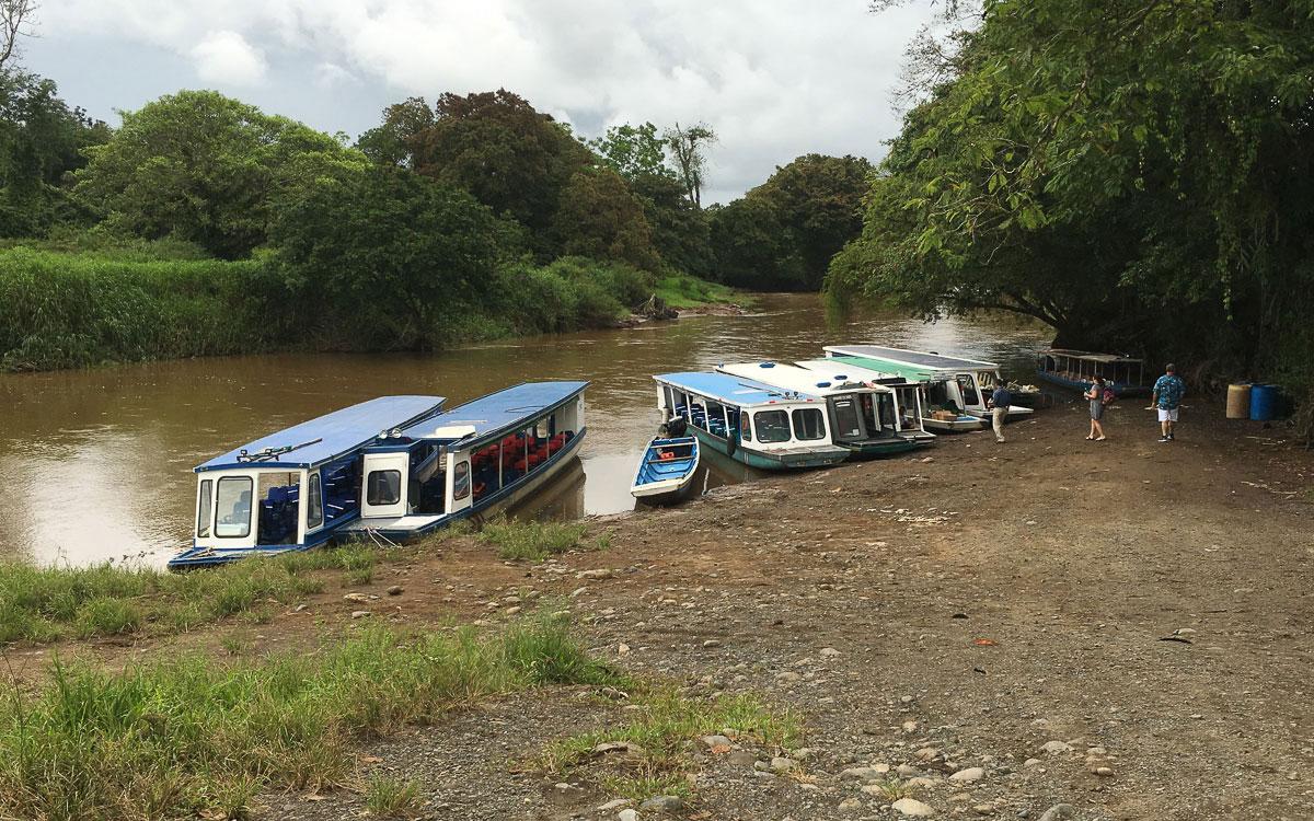 Tortuguero Nationalpark Anreise mit Boot