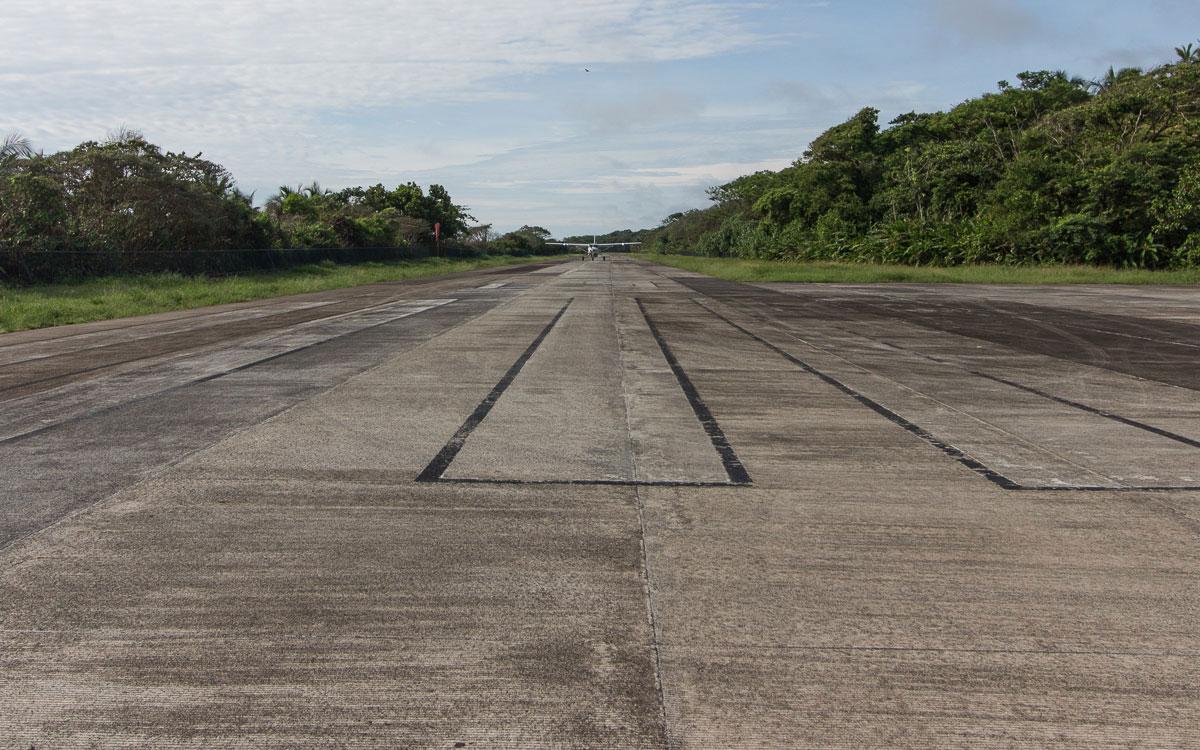 Tortuguero Nationalpark Airstrip Flughafen