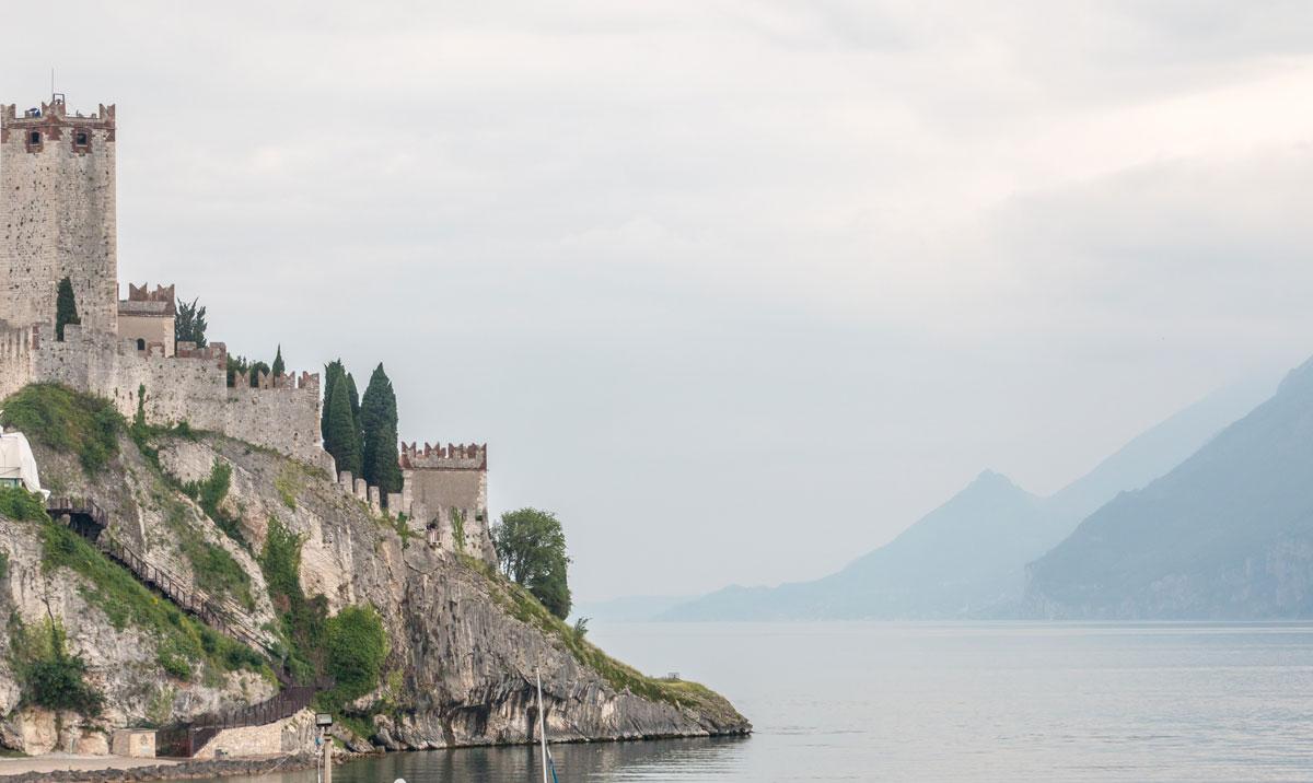Gardasee Tipps Garda Trentino Burg Malcesine Castello Scaligero