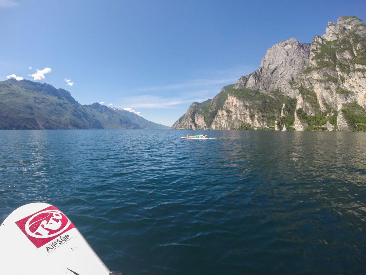 Gardasee Tipps Garda Trentino SUP entspannen