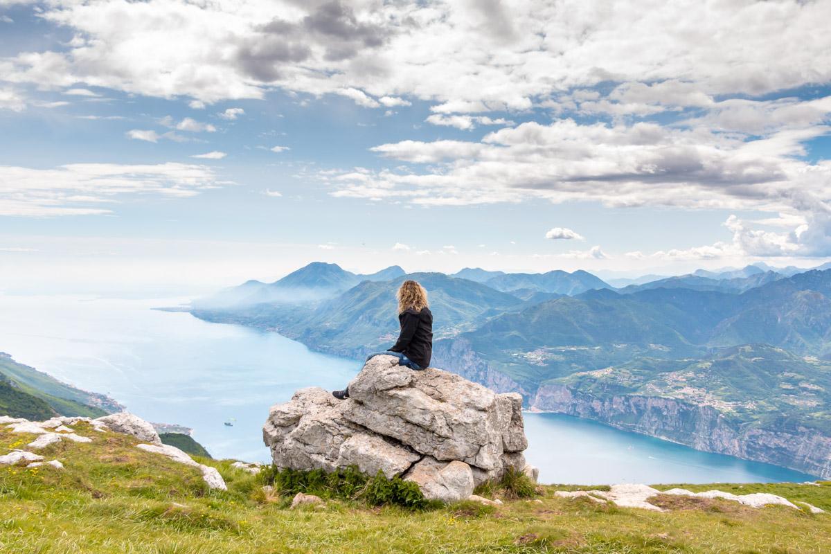 Gardasee Tipps Garda Trentino Aussicht Montebaldo
