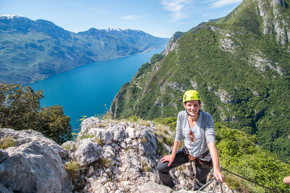 Gardasee Tipps Garda Trentino vor Gipfel Cima Capi
