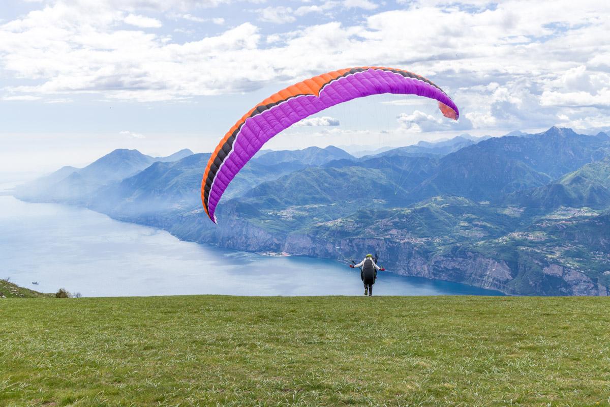 Gardasee Tipps Garda Trentino Gleitschirmfliegen Monte Baldo