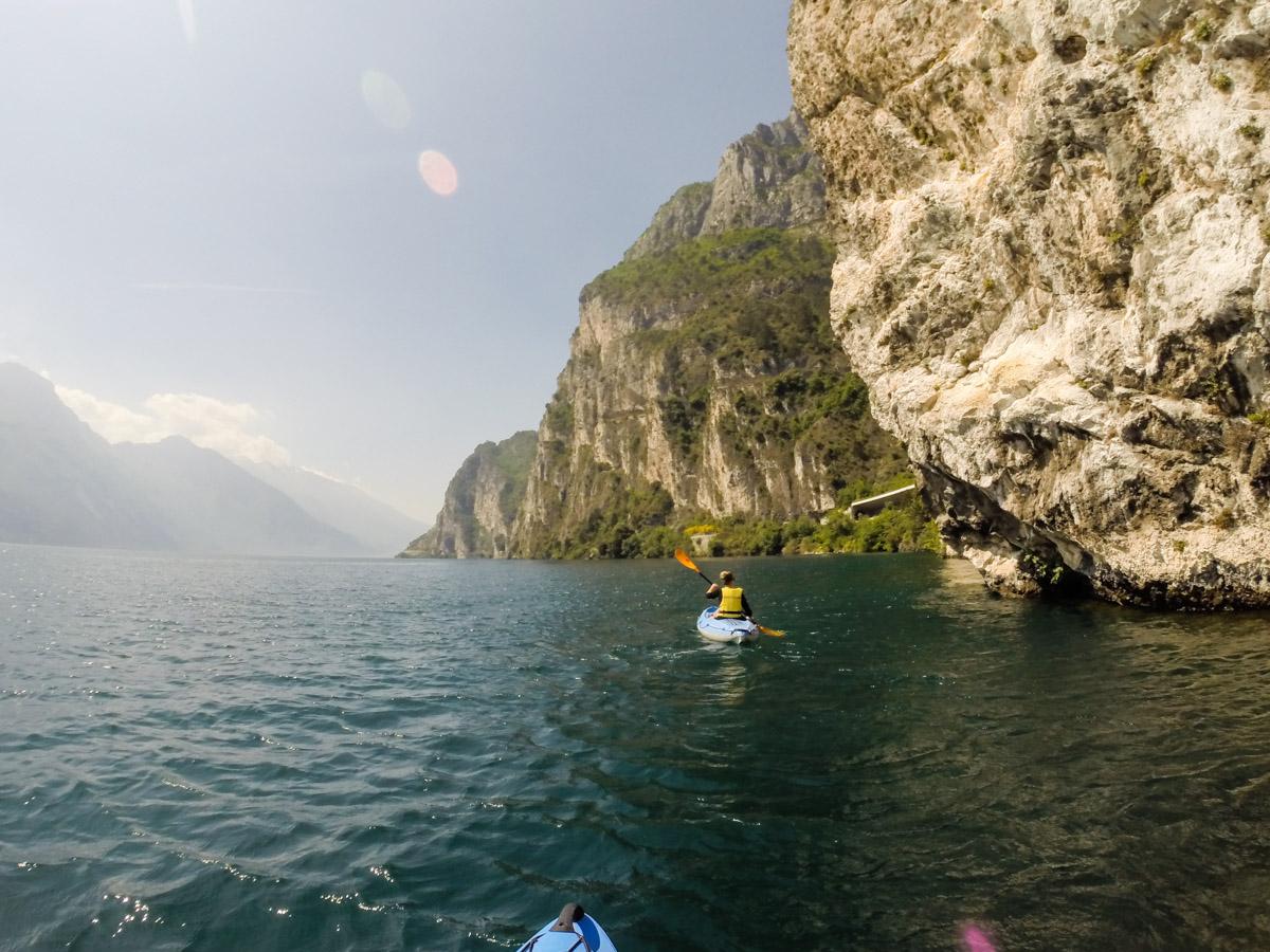 Gardasee Tipps Garda Trentino Kajaktour Westküste