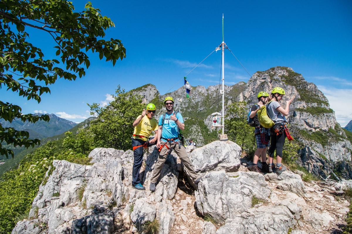 Gardasee Tipps: Gipfel Cima Capi Gardasee Garda Trentino