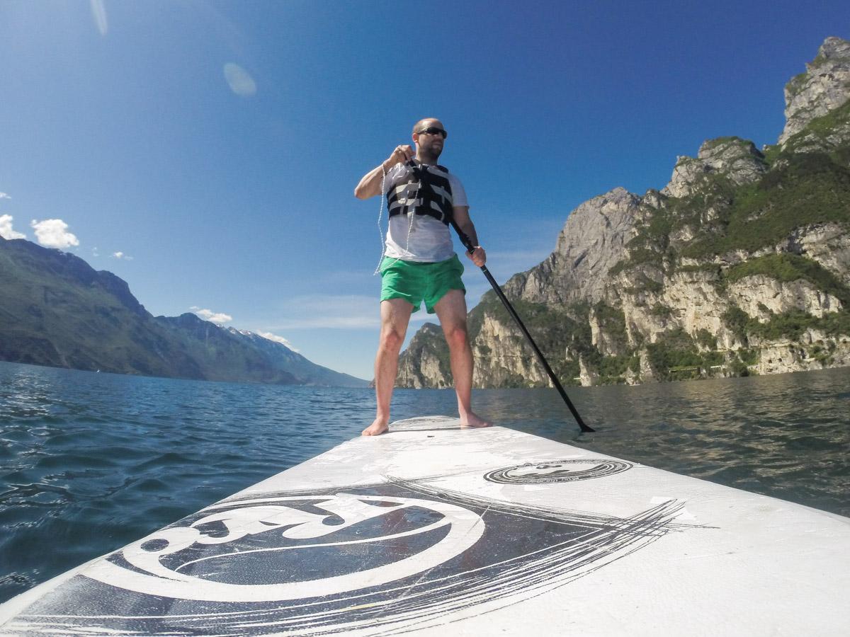 Gardasee Tipps Garda Trentino Standuppaddeling Gardasee
