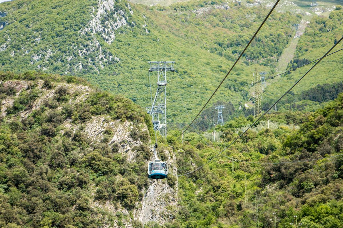 Gardasee Tipps Garda Trentino Gondel auf den Monte Baldo