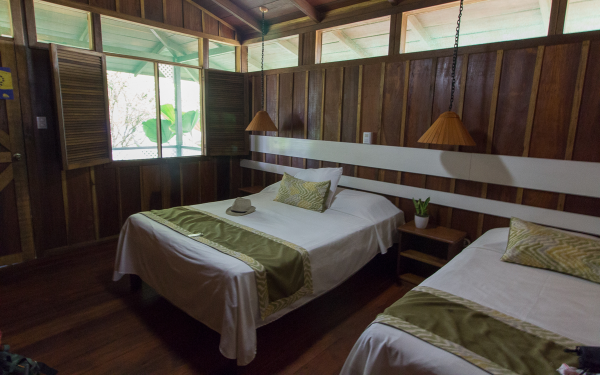 Tortuguero Nationalpark Mawamba Lodge Schlafzimmer