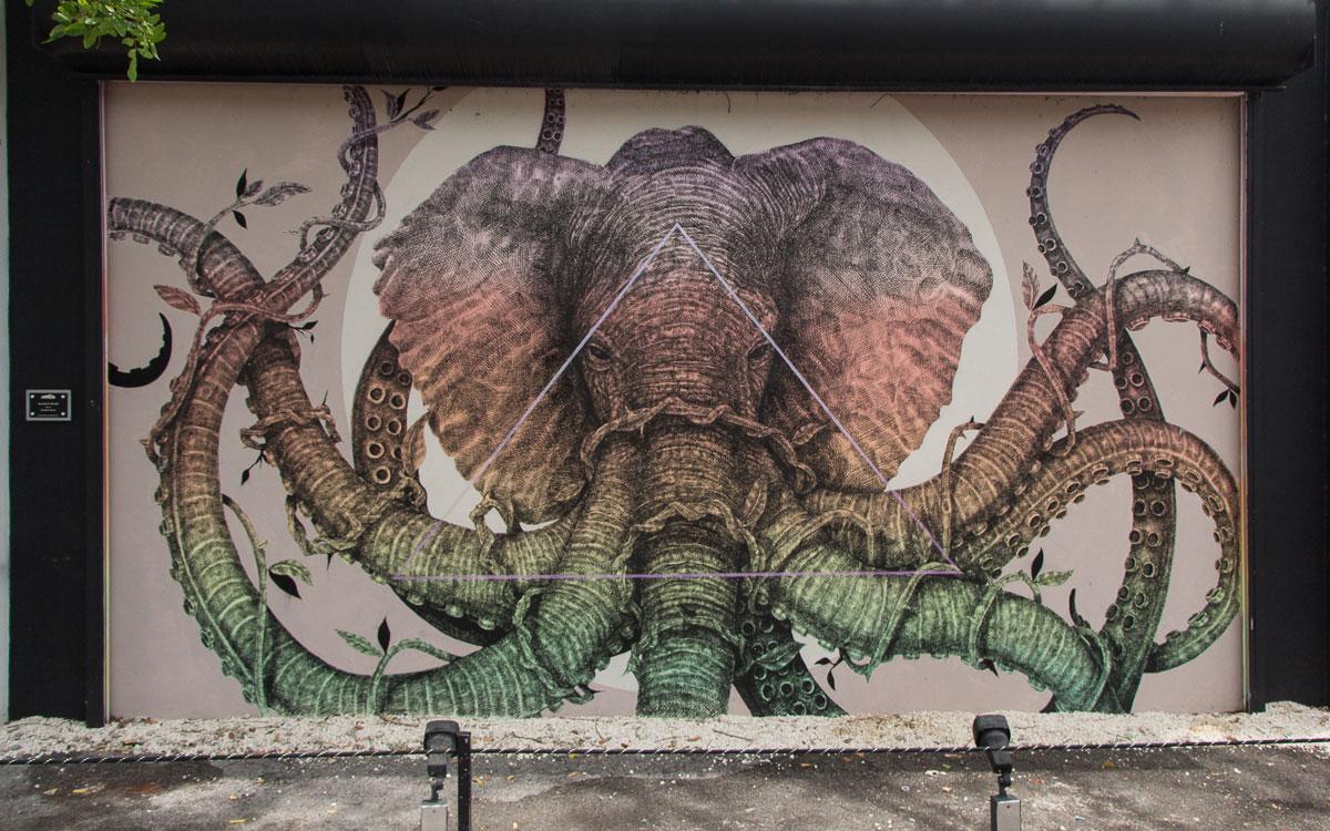Miami Sehenswürdigkeiten Kunst auf den Wynwood Walls