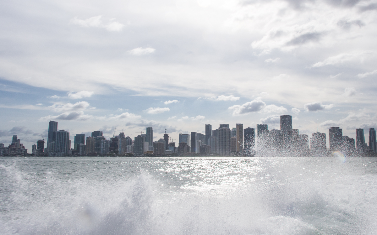 Miami Bootstour Skyline Bayside