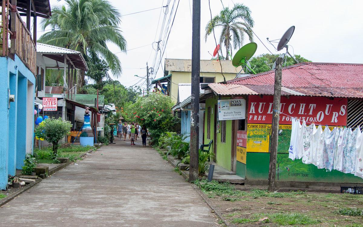 Tortuguero Costa Rica Nebensaison keine Touristen