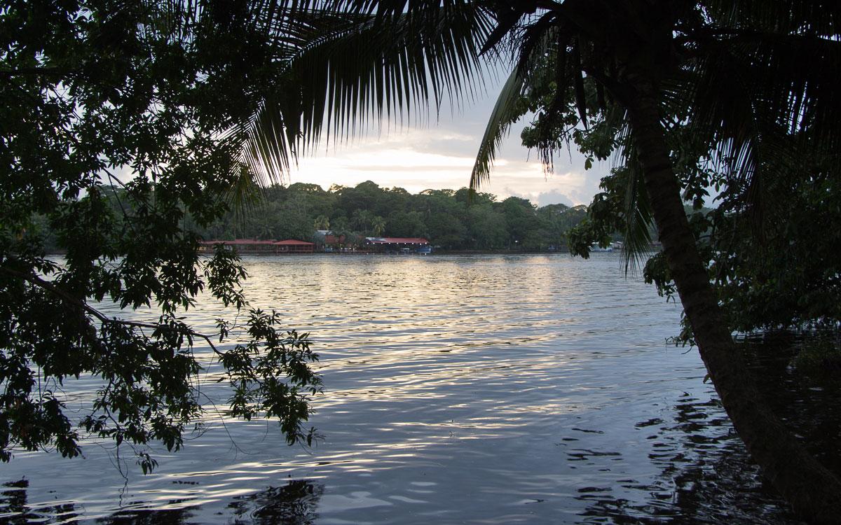 Tortuguero Nationalpark Mawamba Lodge Sonnenuntergang