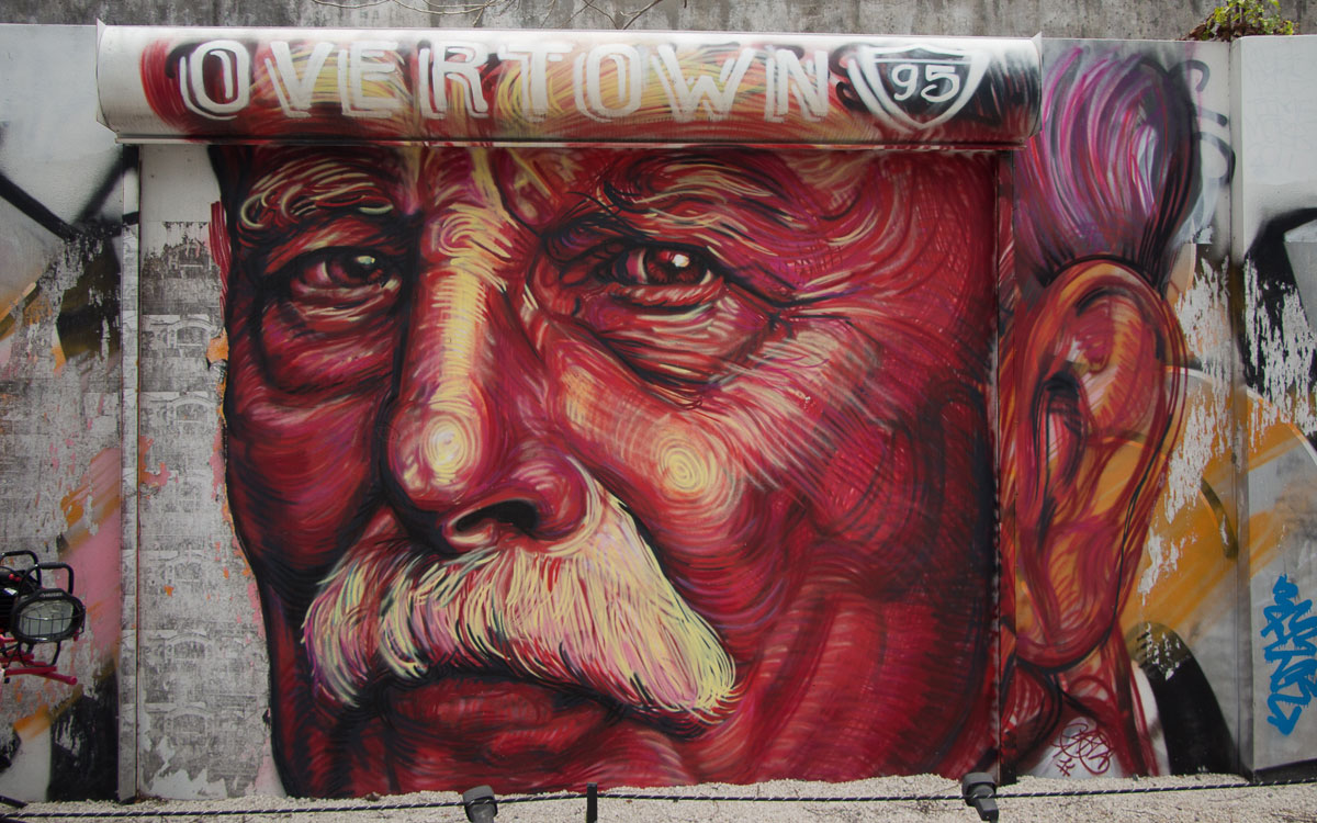 Miami Sehenswürdigkeiten Wynwood Walls Miami Street Art