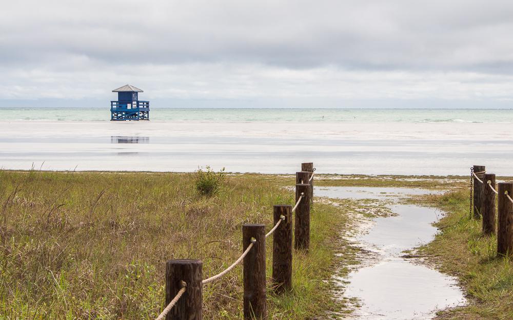 Beste Reisezeit Florida Regentage Gewitter in Sarasota