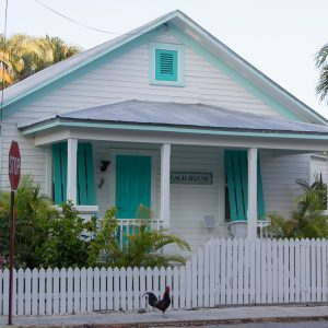 Holzhaus Key West mit Hahn