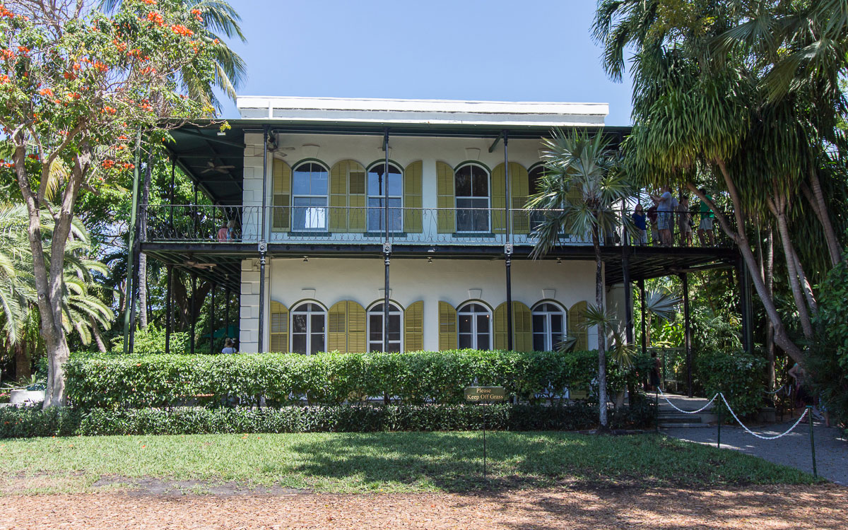 Hemingway Haus in Key West (Florida)