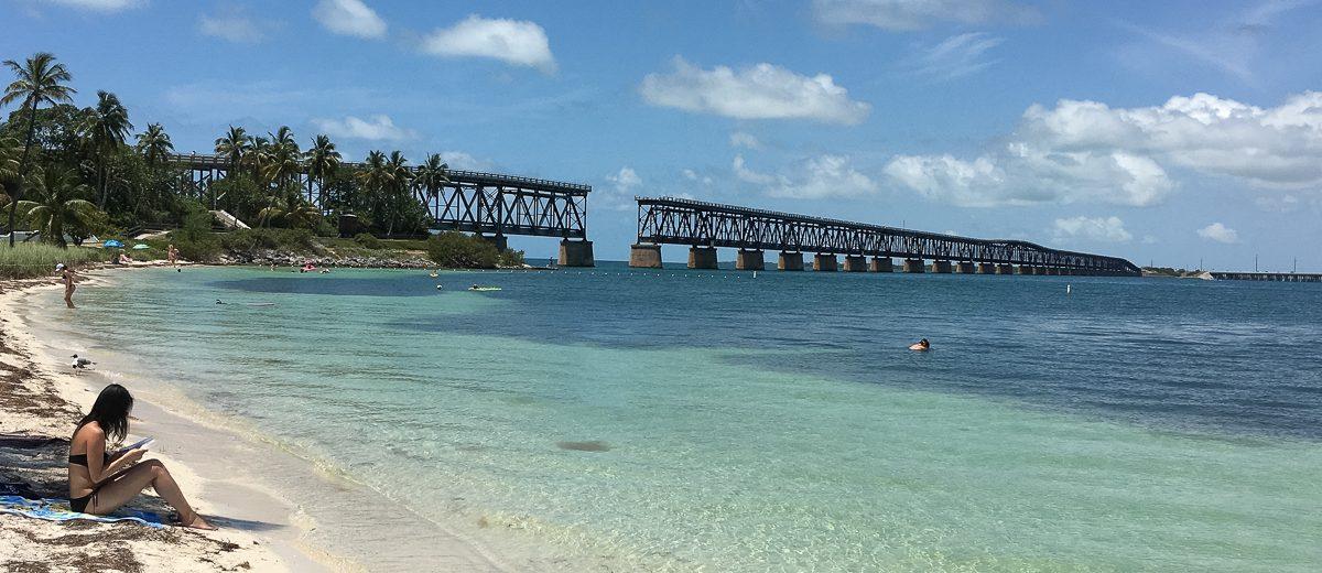 Florida Keys Old Railroad Bridge