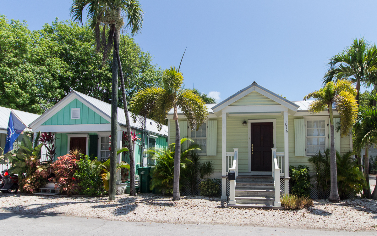 Key West Holzhäuser Altstadt