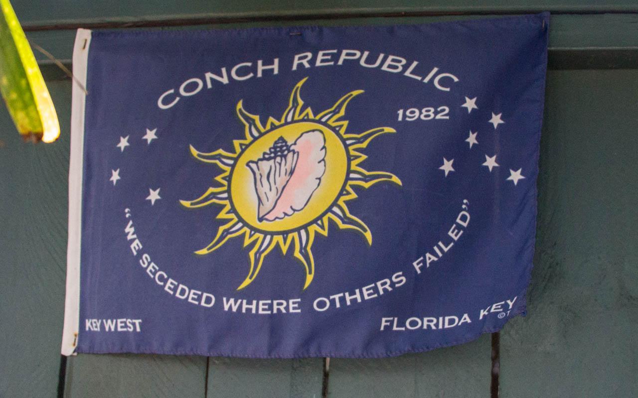 Key West Sehenswürdigkeiten Conch Republic Unabhängig
