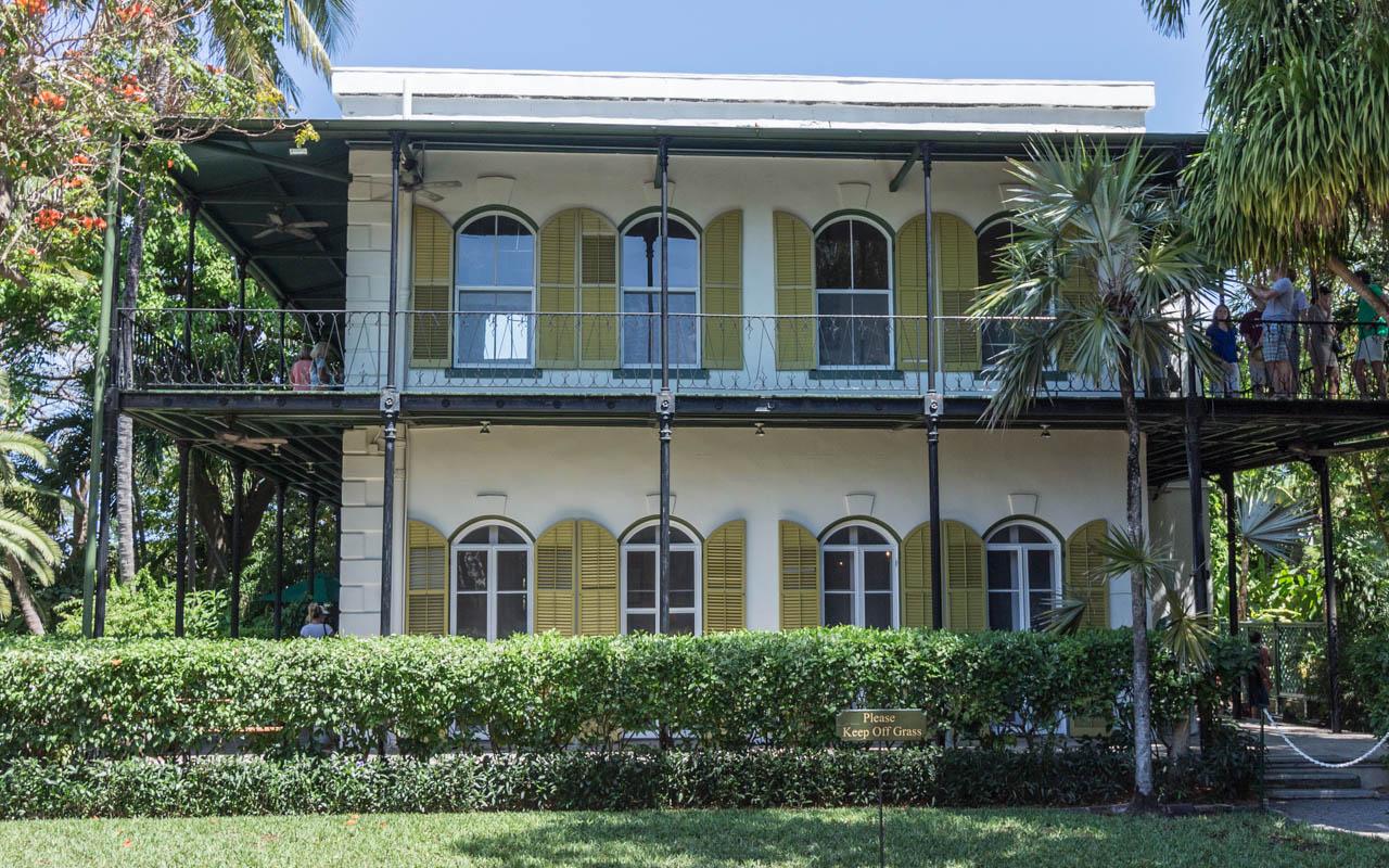Key West Sehenswürdigkeiten: Hemingway Haus und der Garten