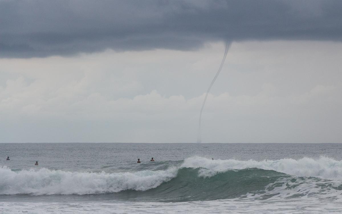 Tornado und Gewitter in Santa Teresa