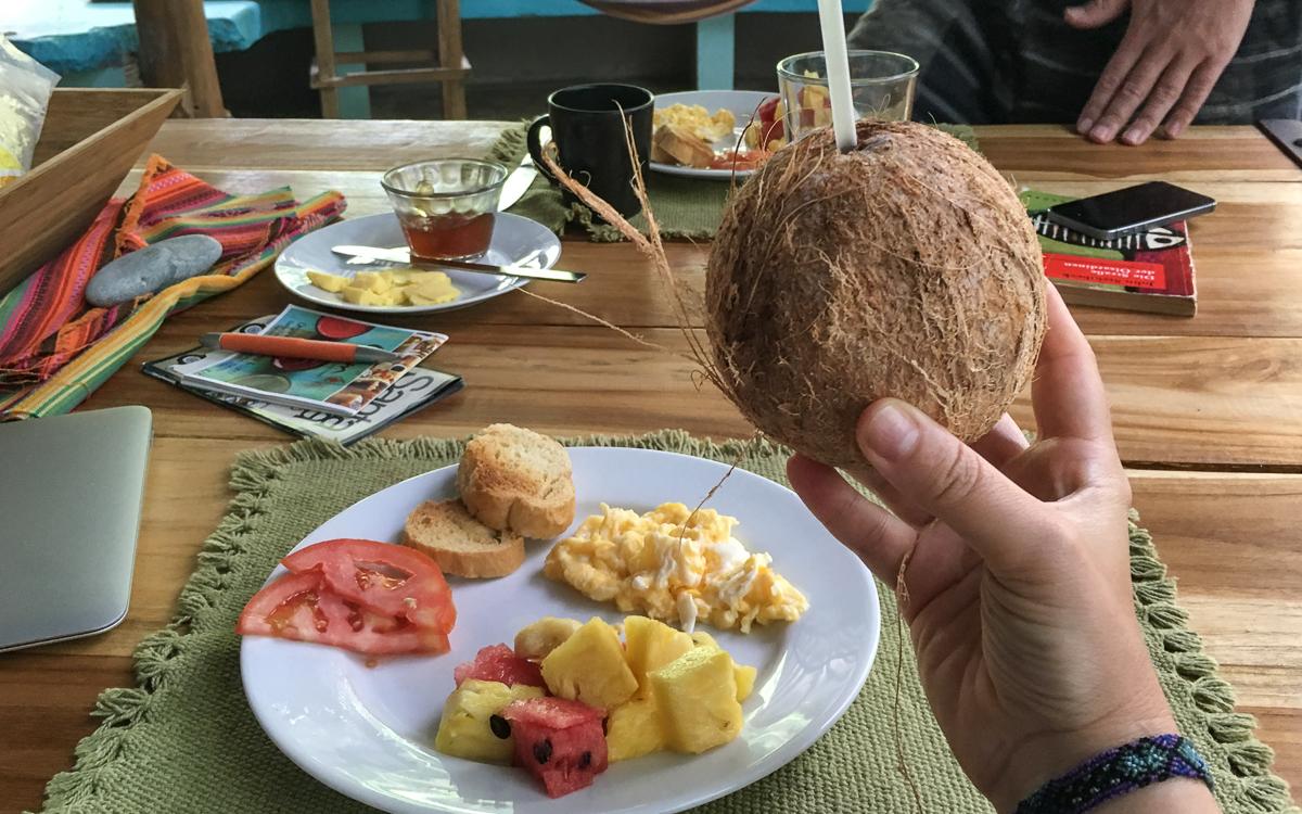 Santa Teresa Frühstück Unterkunft