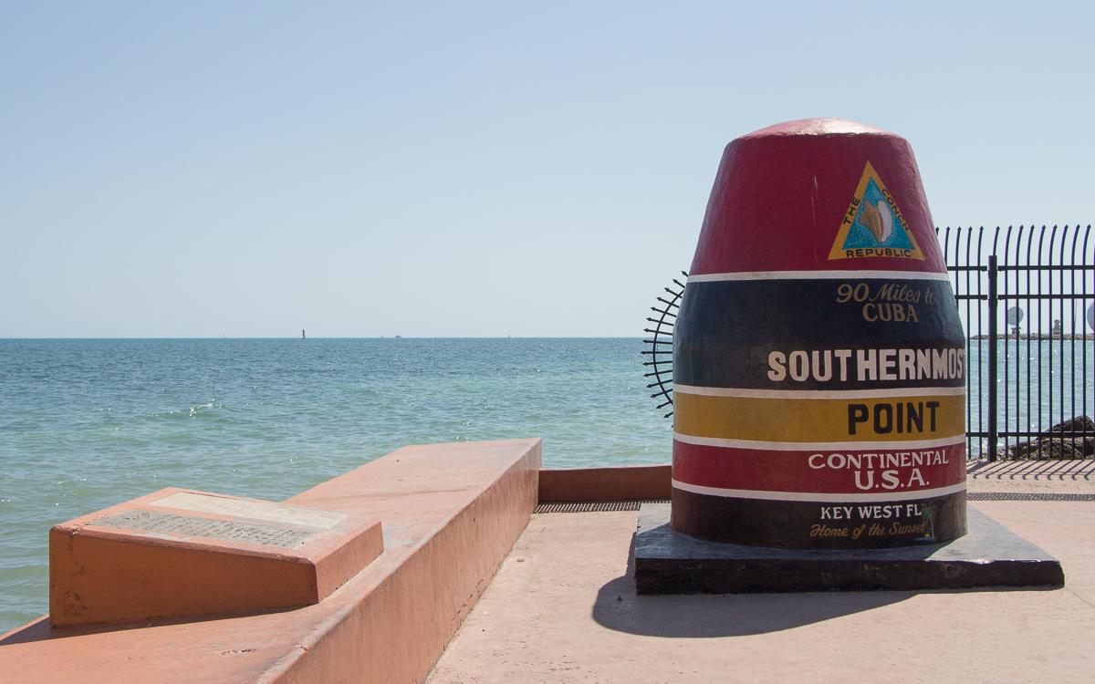 Key West Sehenswürdigkeiten Southernmost Point