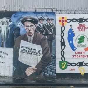Belfast Muals International Wall Republican/Nationalist Murals