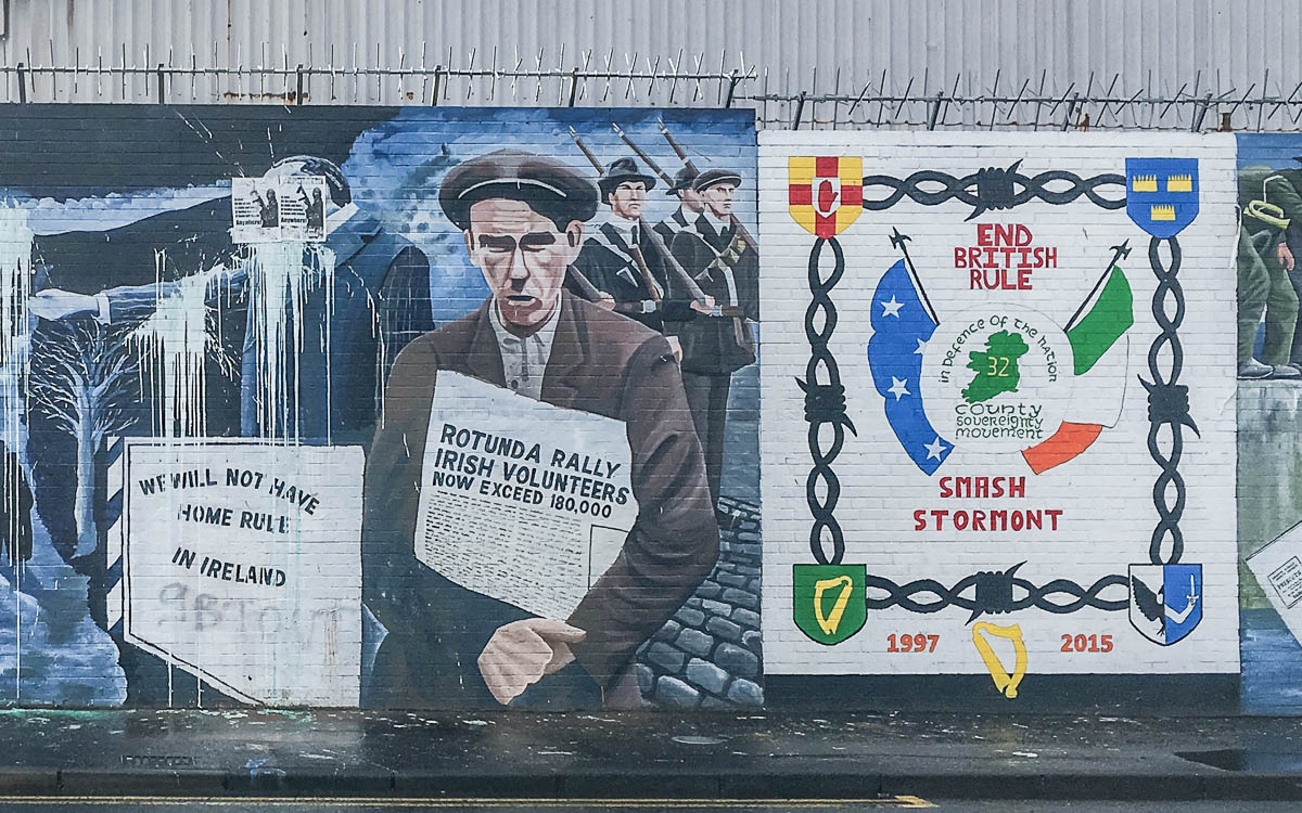 Belfast Muals International Wall Republican/Nationalist Murals