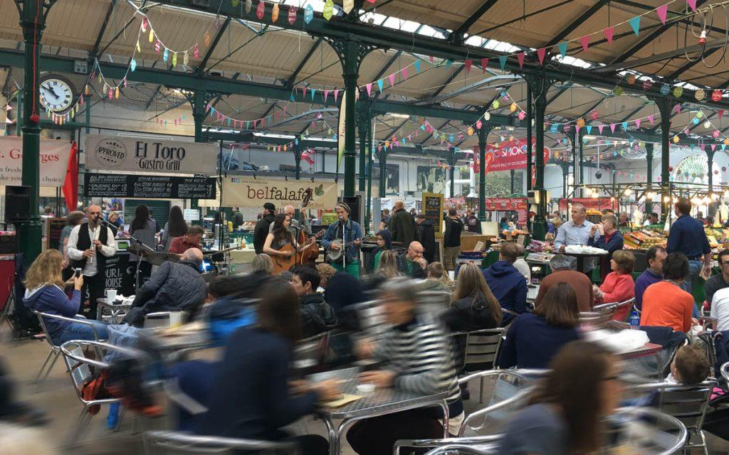 Belfast Sehenswürdigkeiten St Georges Markes Live-Musik