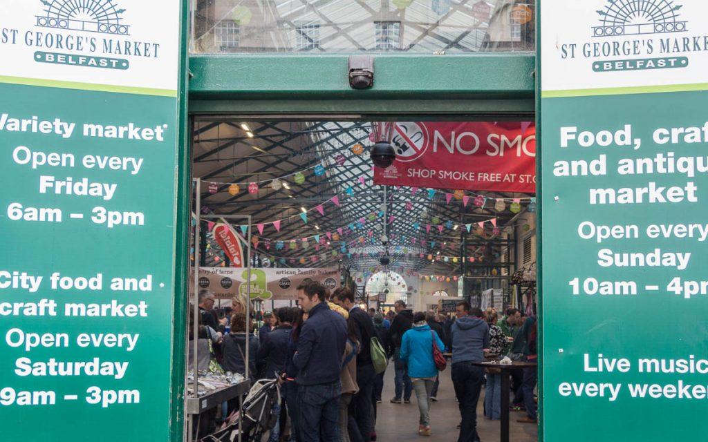 St. Georges Market - Belfast Sehenswüridigkeiten und Tipps