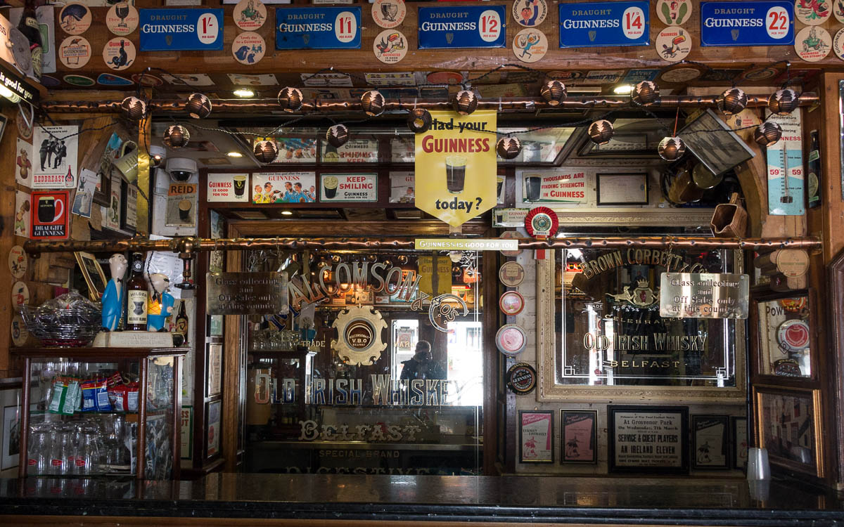 Belfast Tipps Die Bar des Duke of York