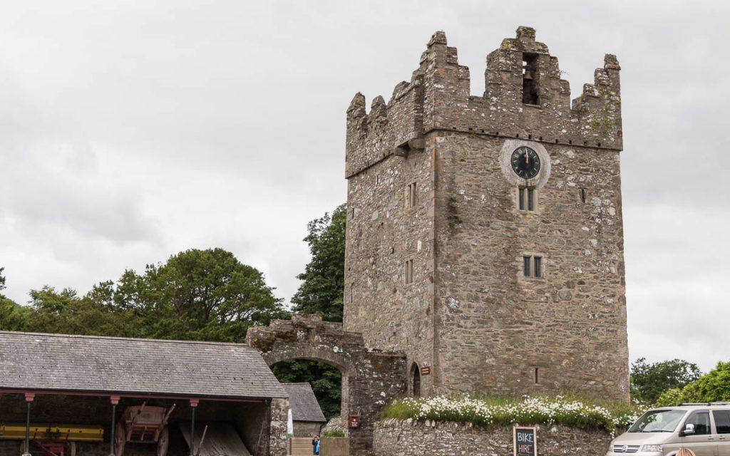 Game of Thrones Drehorte Castle Ward Winterfell Turm