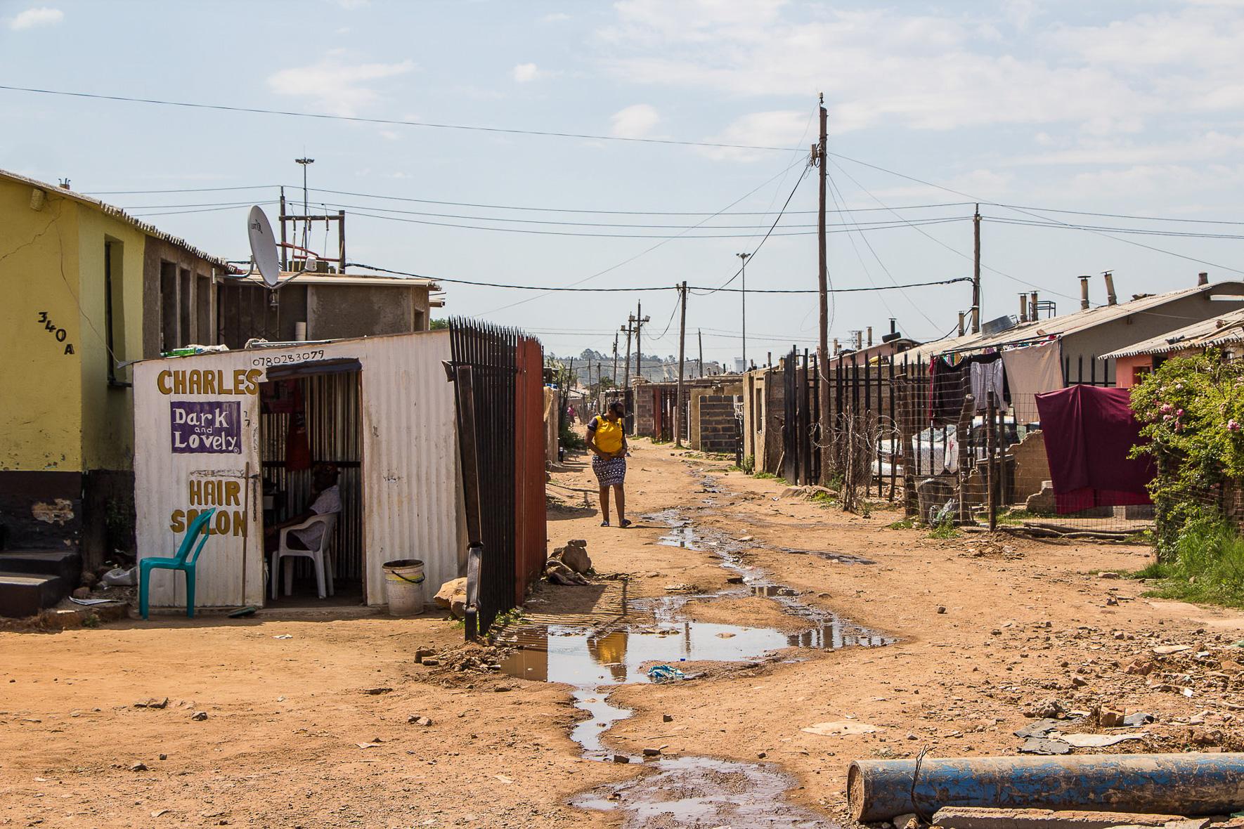 Fahrradtour Soweto