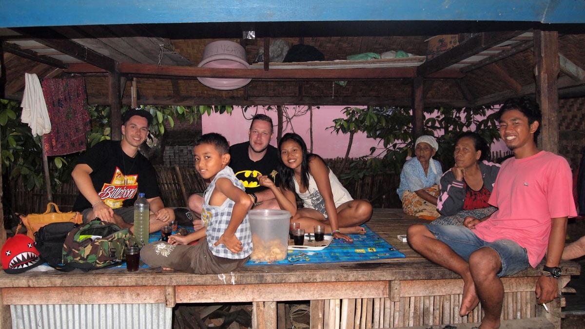 Lombok Indonesien Urlaub Gastfreundschaft